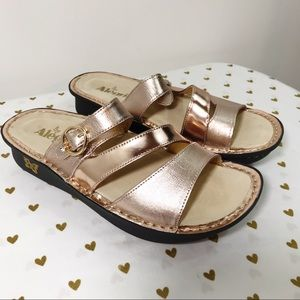 Alegria Colette Rose Mirror Sandals - Size 9